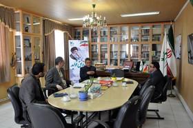 نخستین نشست مدیرکل کانون و رییس سازمان فرهنگی ورزشی شهرداری اردبیل