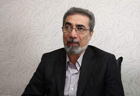 مجید قادری مدیر دپارتمان اسباببازی صنایع کمک آموزشی
