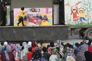 اجرای نمایش در مناطق سیلزده