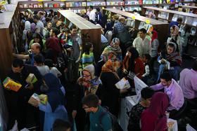 استقبال از غرفه کانون در نمایشگاه بینالمللی کتاب تهران