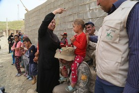 امداد فرهنگی «پیک امید» کانون در مناطق سیلزده شهرستان معمولان