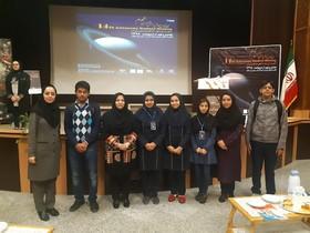 درخشش اعضای مرکز علوم و نجوم کانون زنجان در چهاردهمین همایش دانش آموزی نجوم