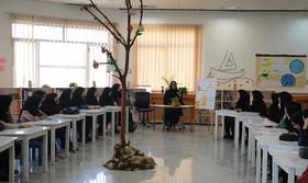 دیدار دانشجو معلمان تربیت معلم بجنورد با مدیرکل کانون خراسان شمالی