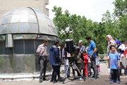 گردهمآیی منجمان پیشکسوت کانون در رصدخانه زعفرانیه