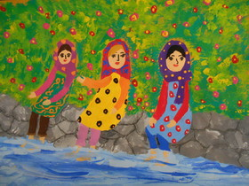 Iranian Friends of the Environment Selected in Japan Painting Contest