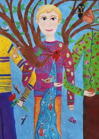 عضو مرکز جونقان ، برگزیده مسابقه نقاشی ژاپن شد