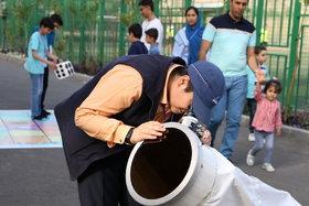 روز نجوم در رصدخانه مرکز علوم کانون استان تهران/ عکس از الهه علیرضالو