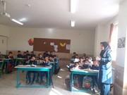 مرکز کتابخانه پستی در مدارس منظریه ی شهرکرد