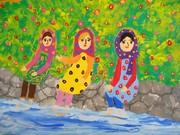 درخشش نوجوان قروه ای در مسابقه نقاشی ژاپن