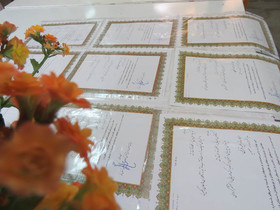 تجلیل از آموزگاران مدارس اطراف مرکز شماره ۸ کانون استان قم