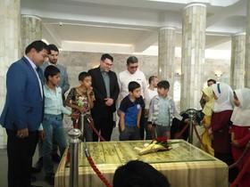 برگزاری نمایشگاه نقاشی و بازدید از موزه آرامگاه فردوسی