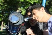 رصد ماه و سیارات درکنار موزه کودک اورمیه