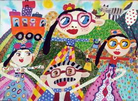 کسب دیپلم افتخار عضو کانون پارسآباد در مسابقه نقاشی«نوازاگورا» بلغارستان