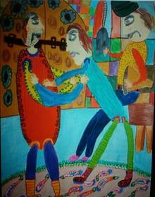 پسر 11 ساله اصفهانی برگزیده مسابقه نقاشی «نوا زاگورا» کشور بلغارستان شد