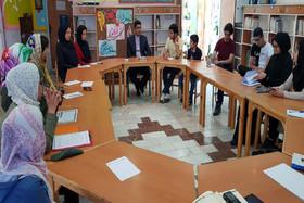 انجمن ادبی لبخند انار در کانون دامغان