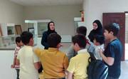 بازدید اعضا کانون شیروان از موزه این شهر به بهانه هفته میراث فرهنگی