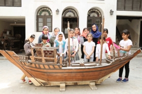 بازدید اعضا مرکز شماره 2 کانون از موزه مردم شناسی بوشهر در هفته میراث فرهنگی