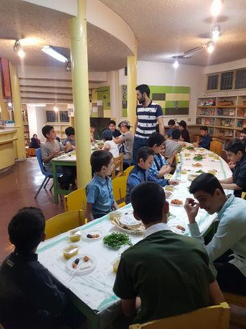 ماه مبارک رمضان در مرکز شماره 15 کانون استان تهران