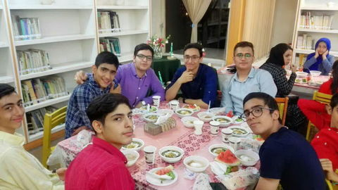 ماه مبارک رمضان در مرکز شماره 22 کانون استان تهران
