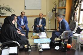 نشست مدیران کل کانون پرورش فکری و نهاد کتابخانههای عمومی استان اردبیل