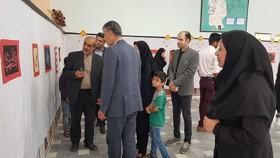 نمایشگاه «به ساحت آفتاب» در مرکز فرهنگیهنری شماره یک زابل(سیستان و بلوچستان) برپا شد
