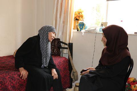 دیدار و دلجویی مدیرکل کانون گلستان از خانوادههای گرانقدر شهدای فتح خرمشهر