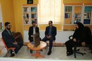 تجلیل از شهید ابراهیم کاوه از شهدای آزاد سازی خرمشهر در دیدار خواهر شید