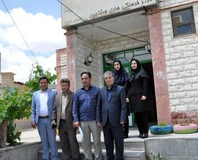 بازدید مدیرکل کانون استان اردبیل از مرکز هشجین