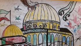 اجرای فعالیتهای فرهنگی و هنری کانون در مسیر راهپیمایی روزجهانی قدس