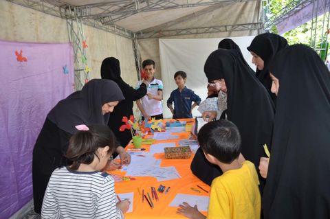 غرفه کانون استان البرز در راهپیمایی پر شکوه روز جهانی قدس
