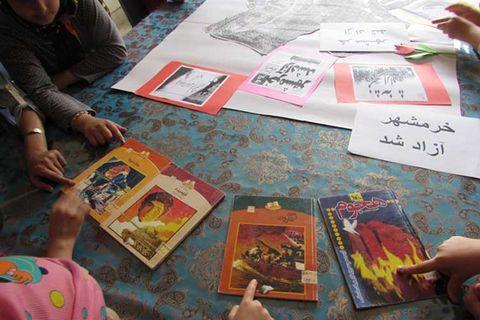 کتاب های منتشر شده کانون پرورش فکری کودکان و نوجوانان با موضوع دفاع مقدس در مریوان معرفی شد