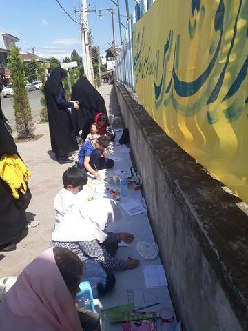 نمایش همدلی کانونیها در حمایت از ملت مظلوم فلسطین - شهرستان شفت