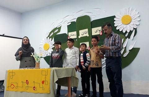 طنین اذان ماه مبارک رمضان در مرکز ۳ کانون مشگینشهر