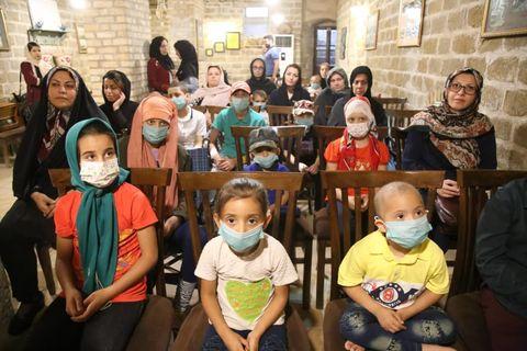 آیین اختتامیه دومین جشنواره فانوس در خانه ماپار اهوار
