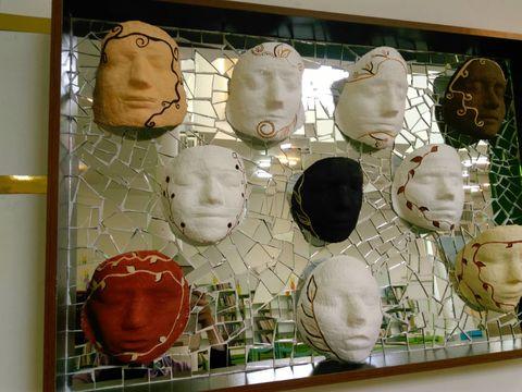 گزارش تصویری کارگاه ساخت ماسک در مرکز شماره 2 کانون قم