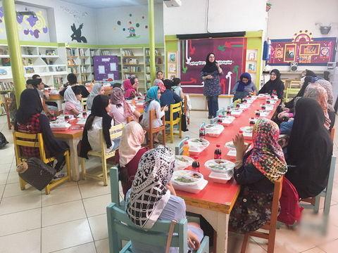 ماه مبارک رمضان در مرکز شماره 12 کانون استان تهران