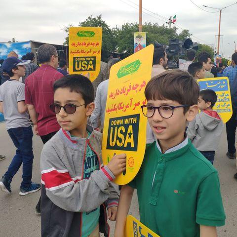 گزارش تصویری مراسم روز قدس در مراکز کانون استان خراسان شمالی
