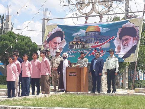 گزارش تصویری مراسم روز قدس در مراکز استان خراسان شمالی