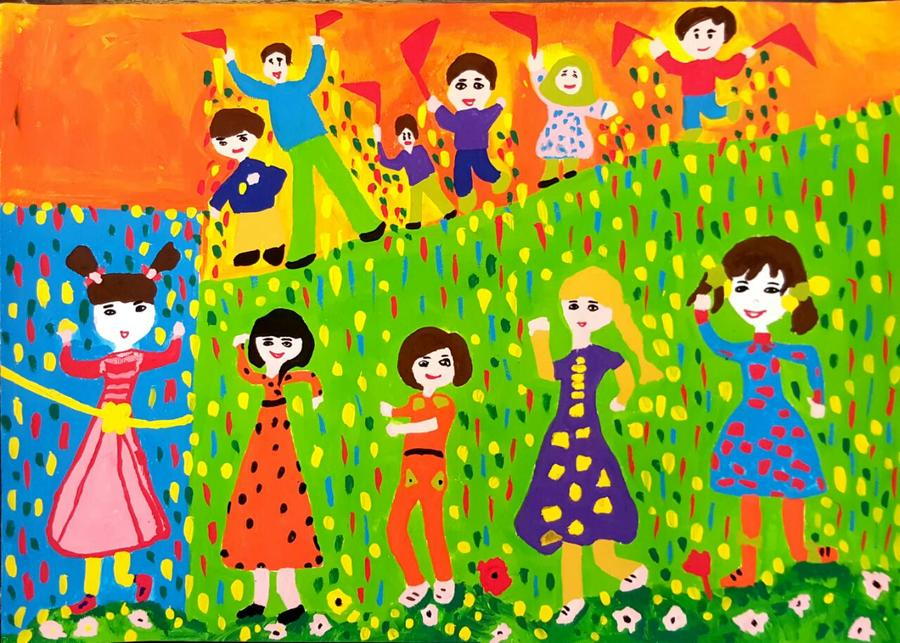 کانون ایلام،نقاشی بلغارستان
