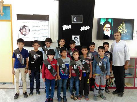 مراسم سالگرد ارتحال امام خمینی(ره) در کانون لرستان