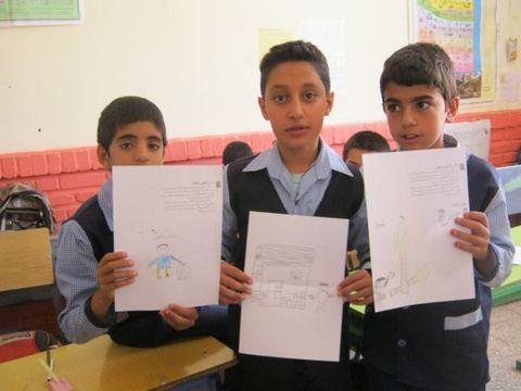 برپایی ایستگاه « عروج ملکوتی»  در دبستان امام خمینی قاین