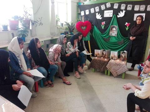 گزارش تصویری گرامیداشت سالروز رحلت امام خمینی (ره)  در مراکز کانون بوشهر