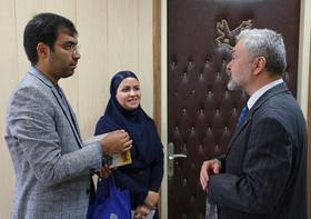 دیدار سفیر اسلواکی با مدیرکل روابط عمومی و امور بینالملل کانون