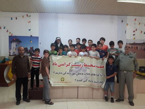 دوستی اعضای مراکز چالوس و بابل  با  طبیعت در روز جهانی محیط زیست