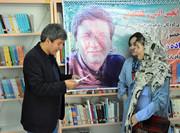 حضور رضا علیزاده، مترجم مشهور در جمع اعضای انجمن ادبی مراکز کانون اردبیل
