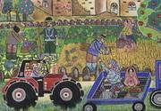 نقاشی عضو کانون کرمان برگزیده مسابقه بینالمللی بلاروس شد