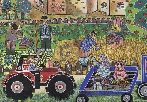 نقاشیهای کودکان ایرانی از «سرزمین مادری»، برگزیده مسابقه بینالمللی بلاروس