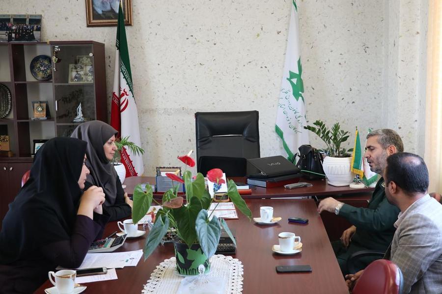 امضای تفاهمنامه همکاری بین کانون پرورش فکری و قرارگاه پیشرفت و آبادانی سپاه نینوا گلستان