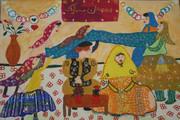 کسب دیپلم افتخار عضو کانون مهدیشهر در مسابقه بینالمللی نقاشی