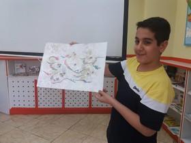 راه یابی عضو نوجوان مرکز ۲ کانون کرج به مرحله عالی انجمن خوشنویسان